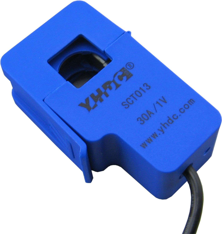 Transformador de Sensor de corriente alterna de salida de 3,5mm SCT 013-030 30A/1V
