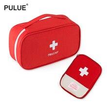 Esencial para los accesorios de viaje al aire libre Kit de primeros auxilios rojo portátil caja de medicamentos de emergencia para el hogar viaje de negocios bolsa de medicina caja de pastillas