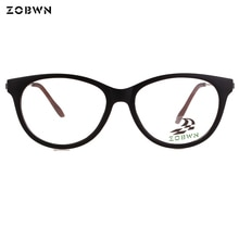 ZOBWN Новое поступление оптические очки кошачий глаз супер тонкие женские очки Oculos femininos супер тонкие черные col
