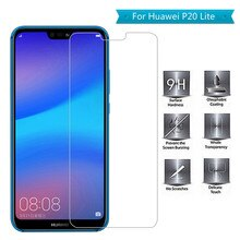 2.5D Curved Edge Screen Glass for Huawei P20 Lite 9H Transparent Tempered Glass on For Huawei p20 li