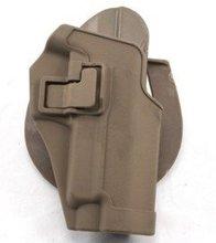 Faucon noir CQC pour SIG P220 P226 SERPA RH Tan étui