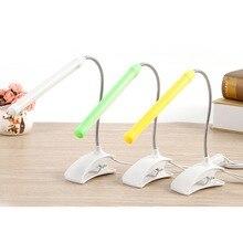 Desk Lamp 5V USB Child Read Book Light Flexible With Clip Desk Lamp For Children Bedroom Reading Light Shadeless Book Light LED