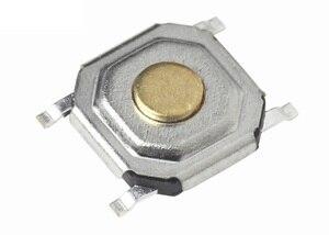 Tape & Reel Miniature Tact Switch 4x4x1.5 mm ( 5.2x5.2x1.5) SMT Horizontal Vertical Surface Mount Reflow Solder light Push SPST