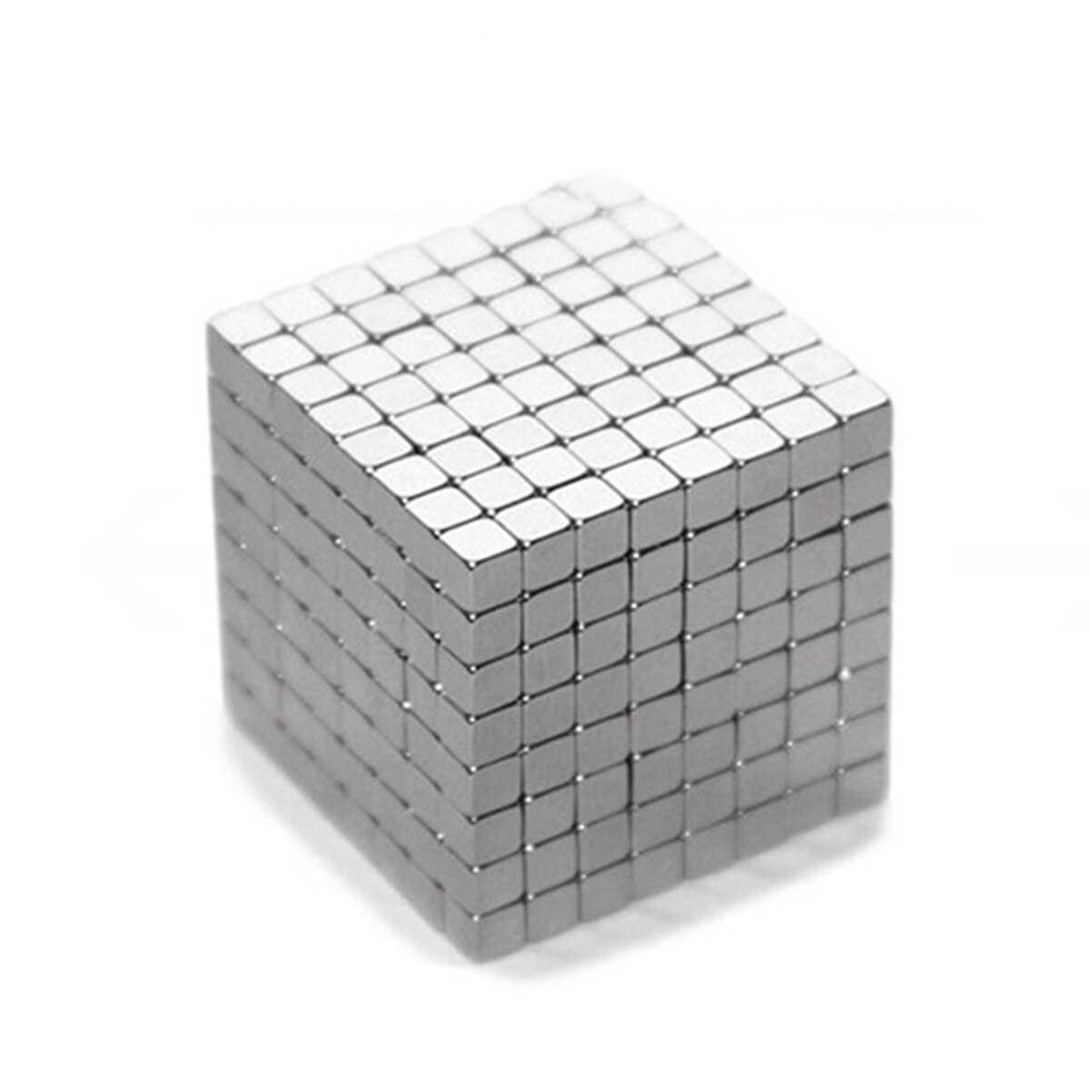 3mm 125 Pcs Poderosos ímanes de Terras Raras de Neodímio Ímãs Quadrados Bloco Cubo DIY Educacional Brinquedo Cubo Magnético Criatividade Brinquedo Intelectual