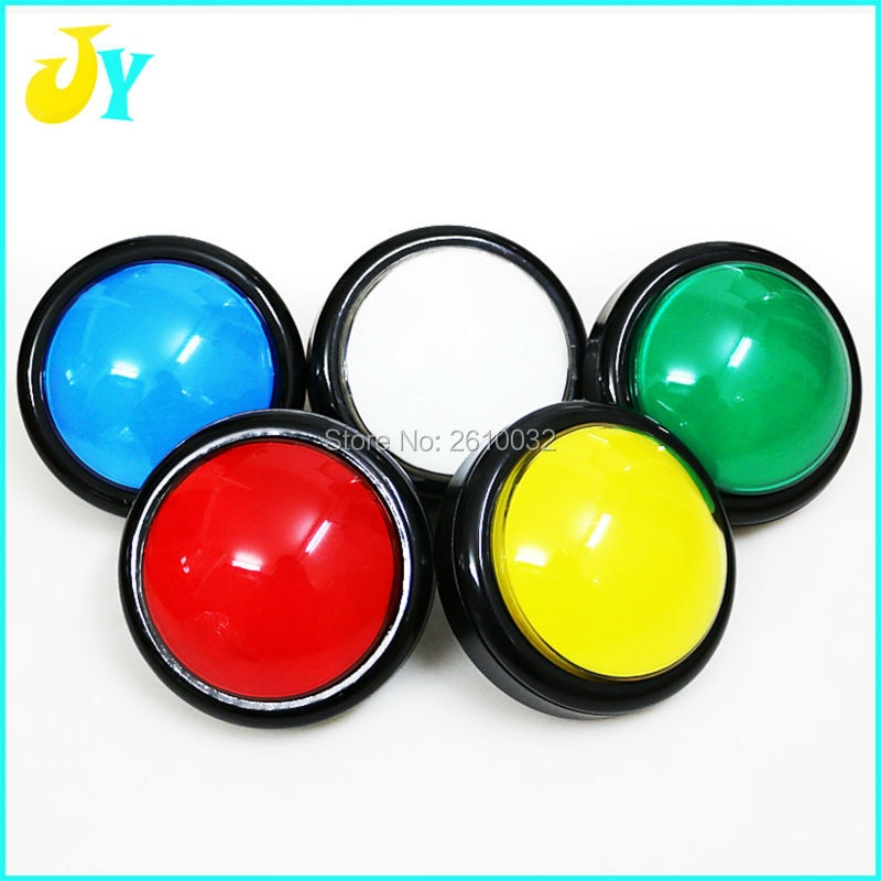 guitar stomp box switch momentary switch pedal box effects momentary spst button stomp foot switch push button pack of 10 10 pcs 100mm Push Button Arcade Button Start button Led Micro Switch Momentary Illuminated 12v Power Button Switch