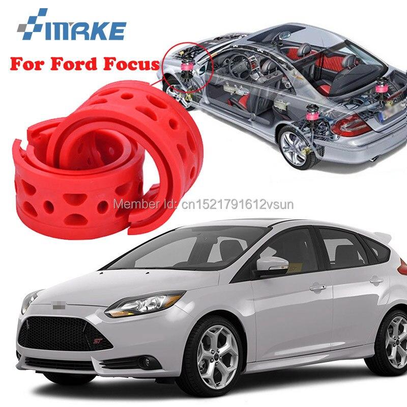SmRKE para Ford Focus alta calidad resorte amortiguador de coche delantero/trasero potencia de parachoques amortiguador