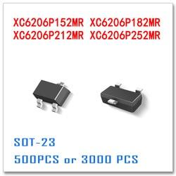 500 PCS 3000 PCS SOT23 XC6206P152MR XC6206P182MR XC6206P212MR XC6206P252MR SMD SOT SOT-23