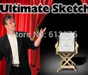 Final Sketch Pad 4.0 Tamanho Do Palco Programável Desenho Pad Mentalismo Truques de Mágica Ilusão Truque Magica Adereços Profissional