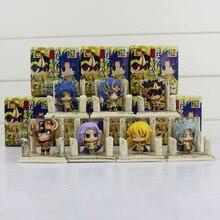 7 teile/los Saint Seiya SHIRYU HYOGA SHUN IKKI JABUl Ritter der Zodiac PVC Action Figure Modell mit box freies verschiffen