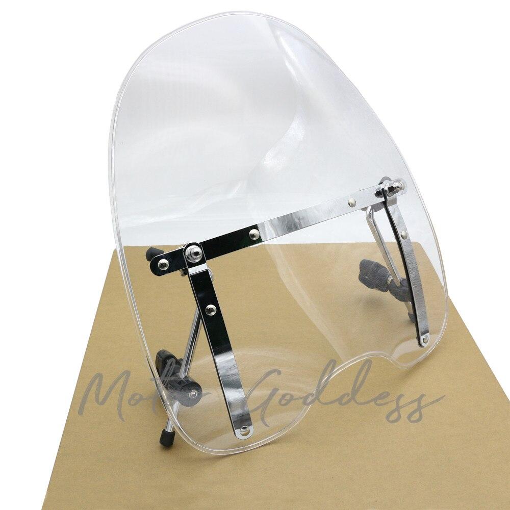 Брендовые новые аксессуары для мотоциклов лобовое стекло для Harley Davidson Sportster Dyna Glide Softail XL 883 1200 xl 120XL