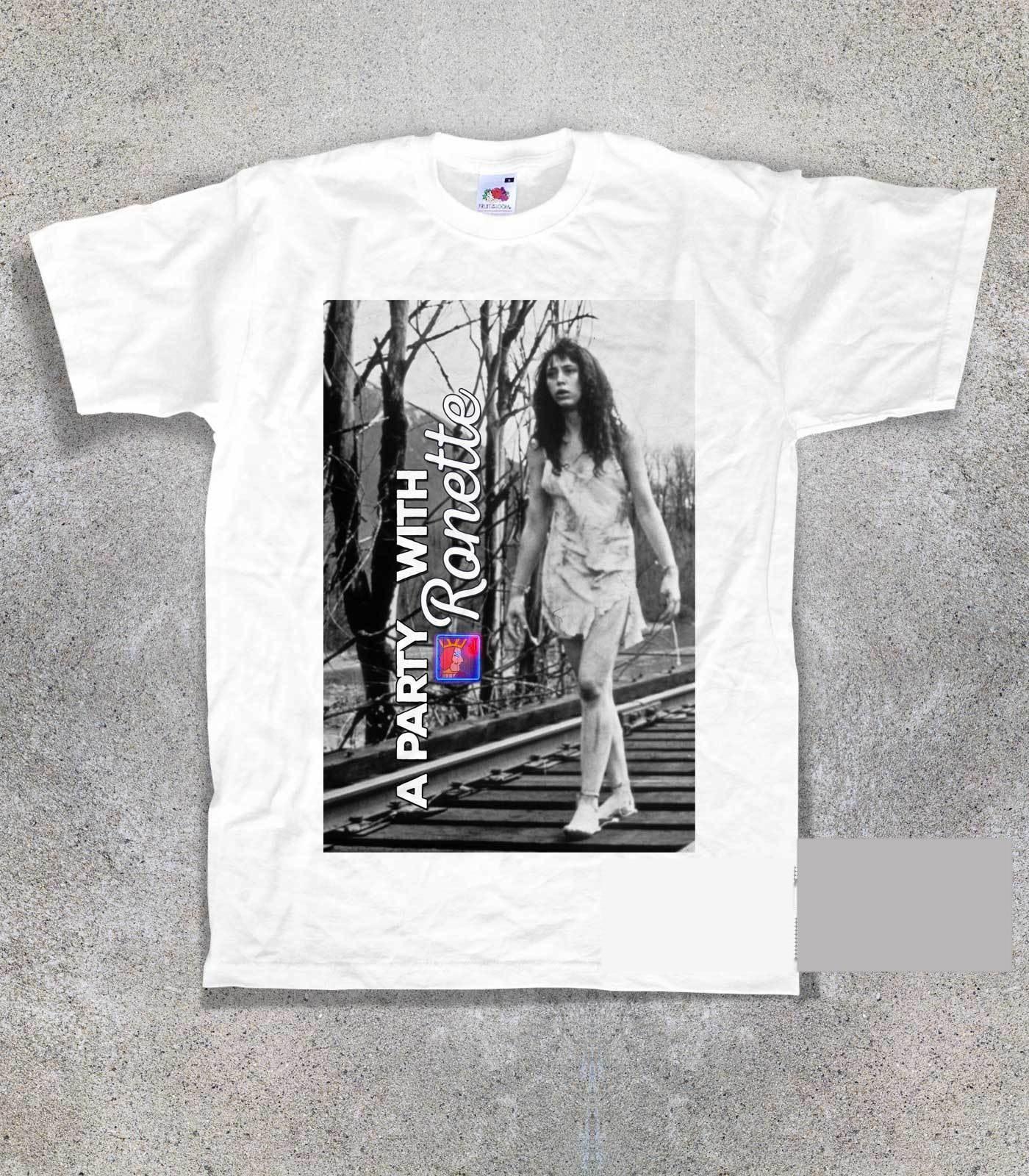 Camiseta Uomo TWIN PEAKS para fiesta con Ronette, camiseta Vintage de un solo ojo con Jack vikinga, camiseta de manga corta para hombre