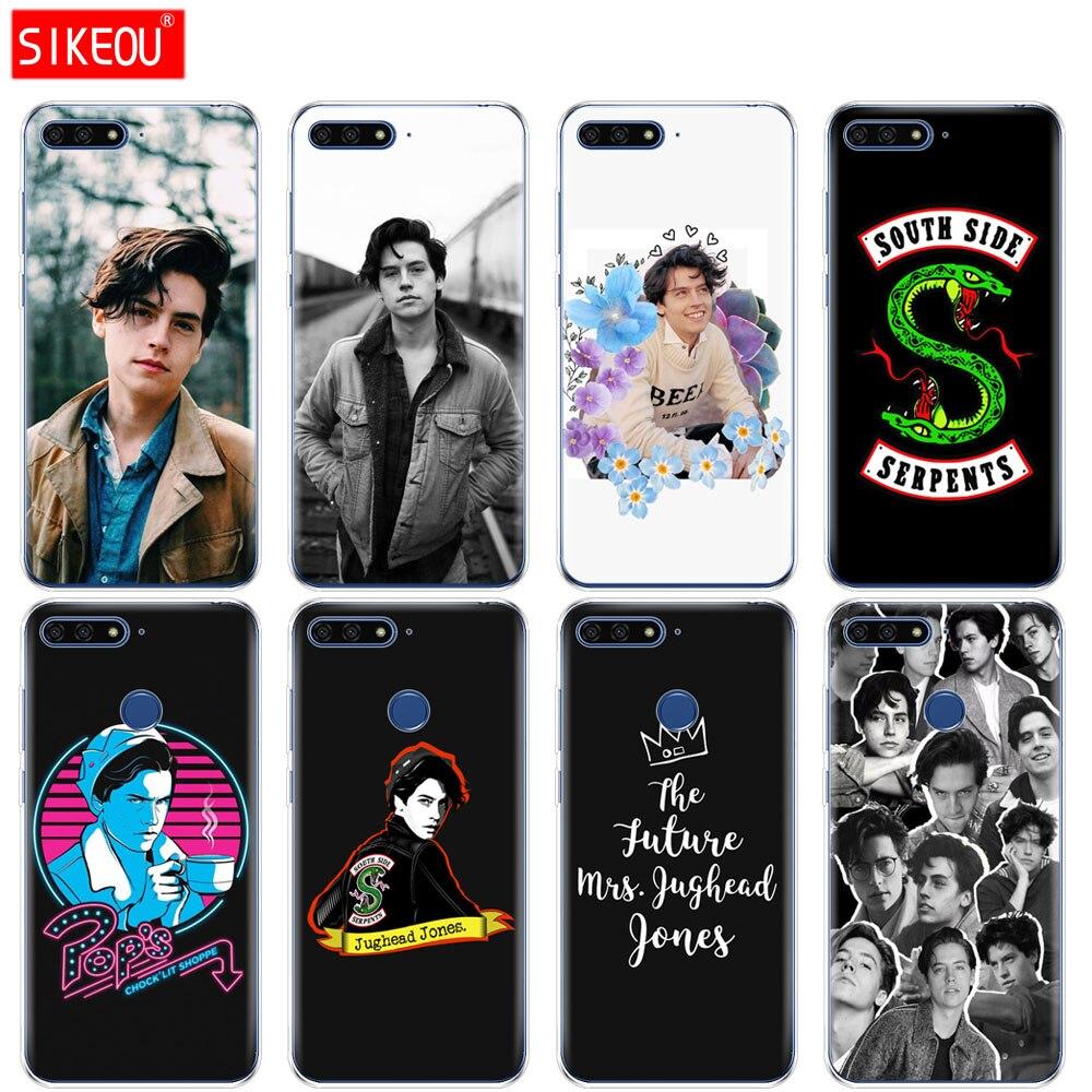 Silikon Abdeckung Telefon Fall Für Huawei Ehre 7A PRO 7C Y5 Y6 Y7 Y9 2017 2018 Prime tv riverdale Jughead jones