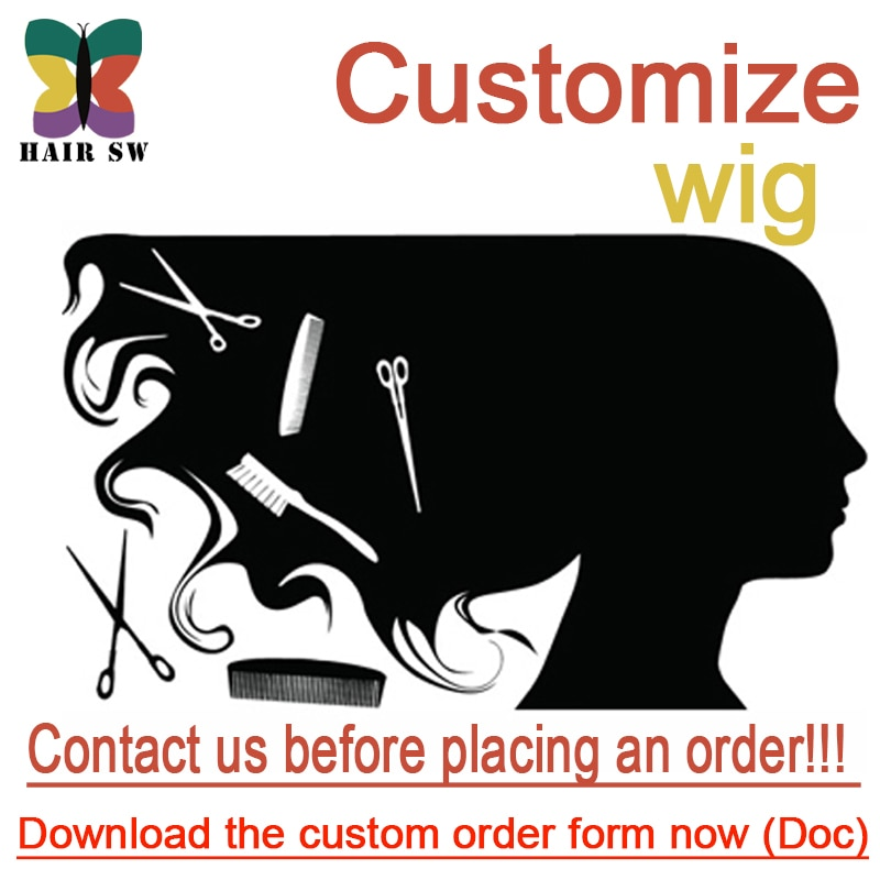 Human Synthetic hair full wig factory payment online(customer make size and hairstyle) for women and men