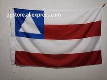 Bandeira da Bahia drapeau 3X5FT 150X90CM   Bannière en Polyester, trous métalliques en laiton, décoration de la maison