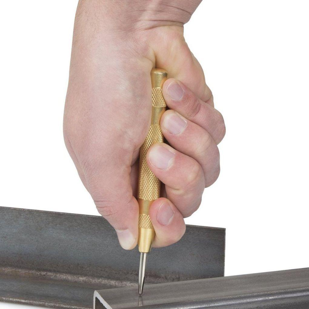 Punzone centrale automatico punzone a molla marcatura fori di - Utensili manuali - Fotografia 2