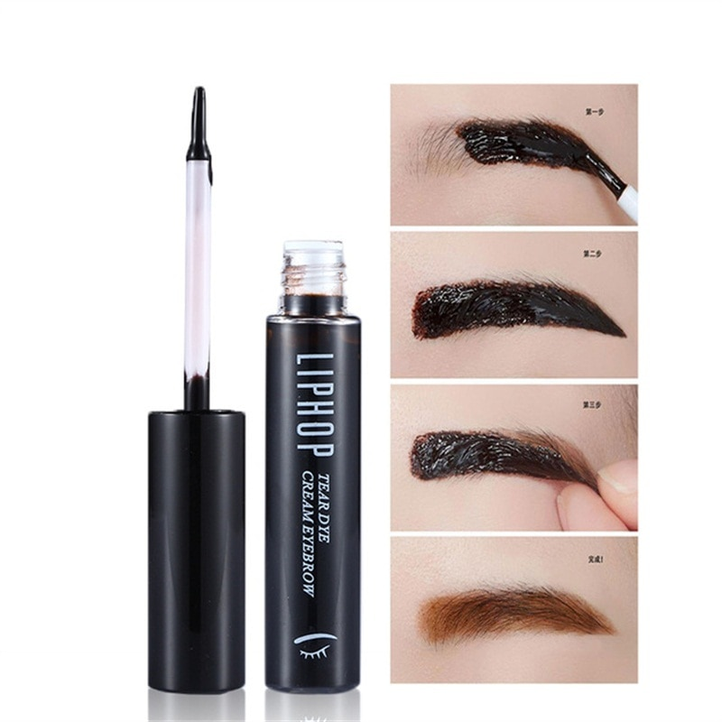 MINCH tatuaje de cejas tinte Super impermeable de larga duración de cáscara Natural gel tinte de cejas crema máscara de maquillaje Corea cosméticos