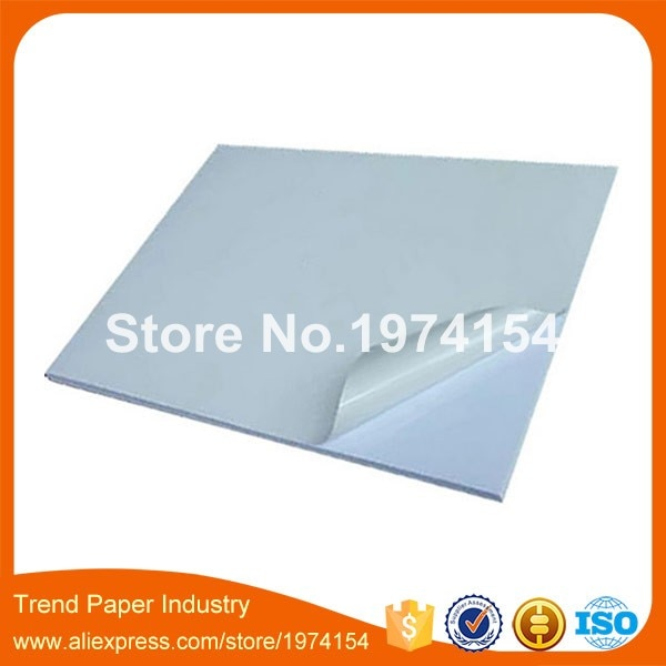 500 Vel A4 blanco waterdicht wit PP synthetisch label voor Laser Printers Custom Sticker vinyl Papier
