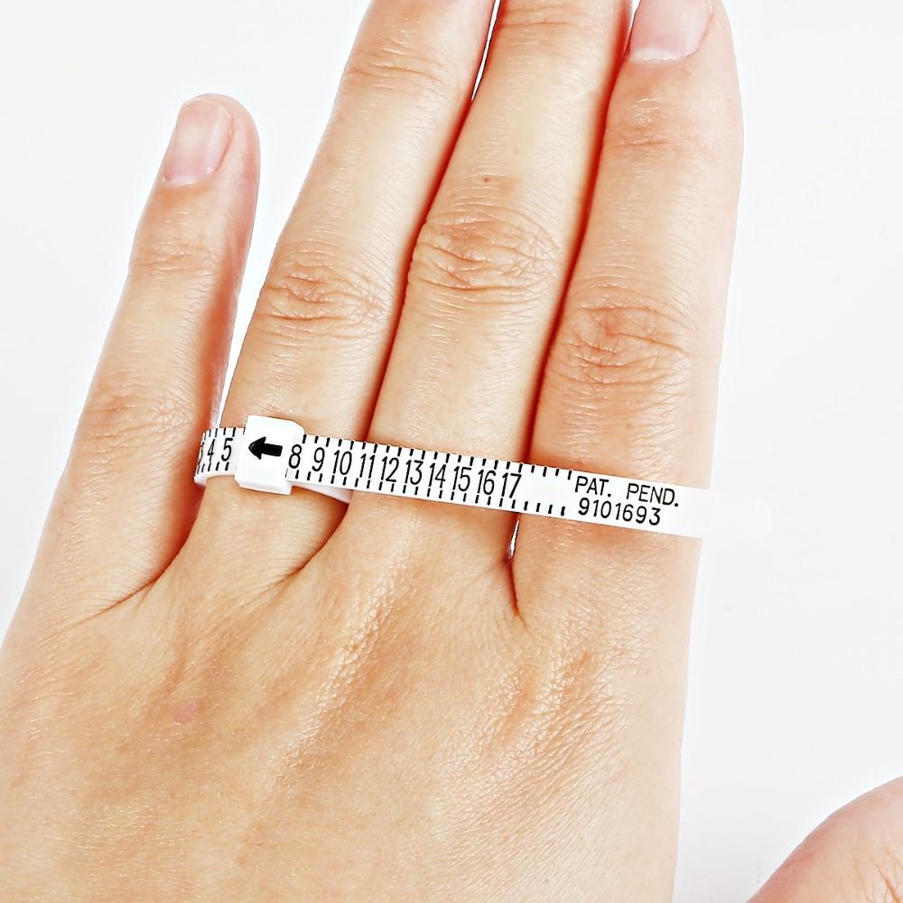 Anillo de alta calidad Sizer UK/US oficial británico/americano, medidor de medidas para hombres y mujeres, tamaños A-Z, accesorio de joyería, medidor