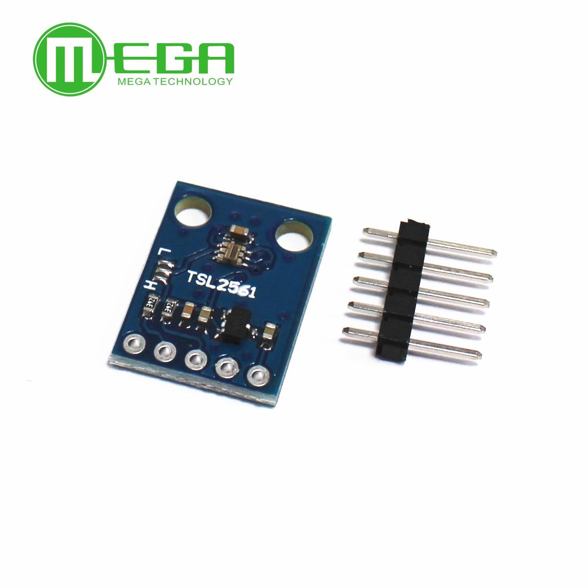 1 шт. GY-2561 TSL2561 датчик освещенности прорыв инфракрасный светильник Модуль датчика интегрирующий датчик