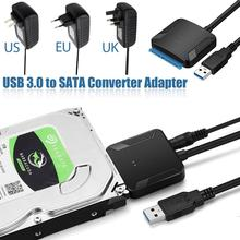 Usb 3.0 sata 어댑터 변환기 케이블 usb3.0 케이블 변환기 삼성 seagate wd 2.5 3.5 hdd ssd 어댑터 도매