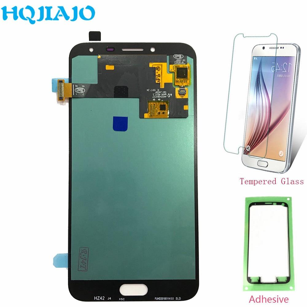Super AMOLED LCD pantalla para Samsung J400 pantalla LCD Digitalizador de pantalla táctil para Samsung Galaxy J4 J400 J400F J400G LCD de montaje