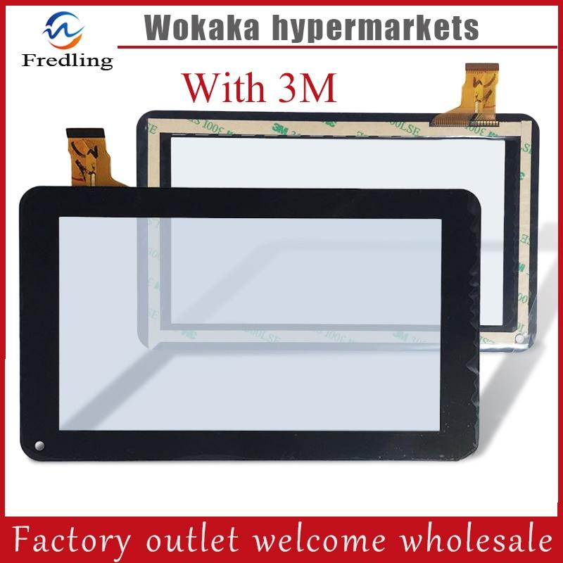 "Nuevo 7 ""Explay N1 irbis TS70 ostras T72MD Supra M741 misterio a mediados de 721 MID722 Tablet Panel de pantalla táctil cristal digitalizador con sensor"