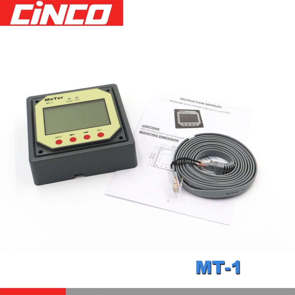 MT-1 MT1 remote meter für EPSOLAR PWM Solar laderegler EPIPDB-COM 10A 20A duo dual zwei batterie ladegerät regler