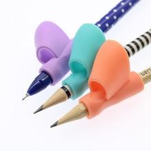 Doigt Silicone bébé apprentissage ensemble de jouets enfants papeterie écriture outils Correction stylo Attitude éducation 3pc