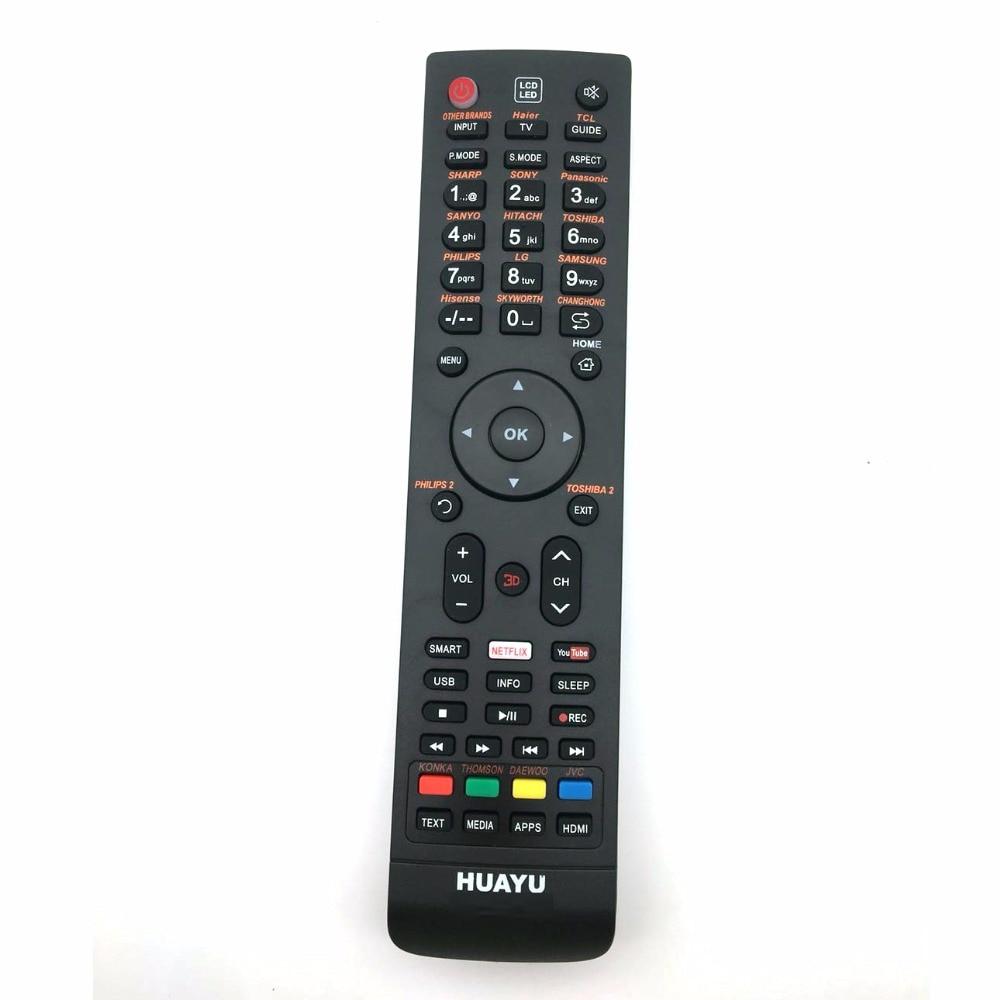 Mando a distancia UNIVERSAL para TV AK52 TC14 AKL AK61 AK57 AK66 DISHTV INTEX LED-3210 INT-X LED3107