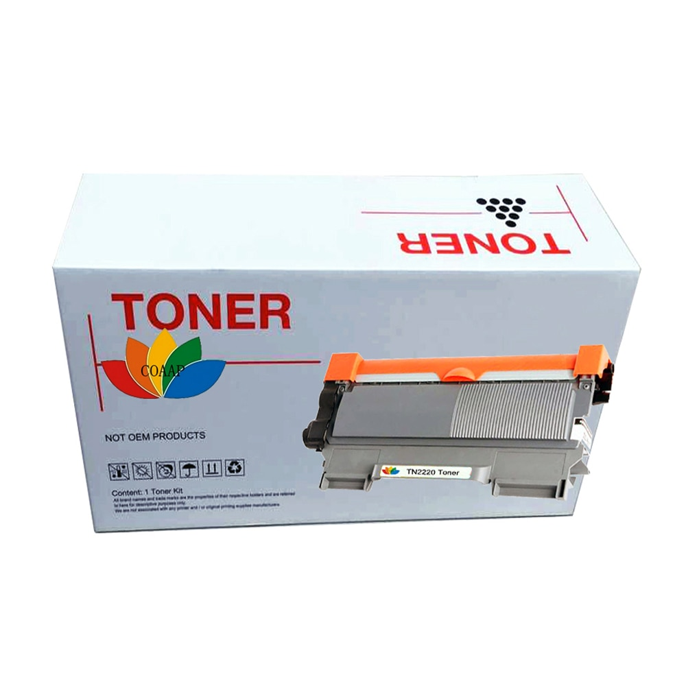 1 tóner negro Compatible con Brother TN2220 para impresora HL-2240/HL-2240D/HL-2250DN/HL-2270DW