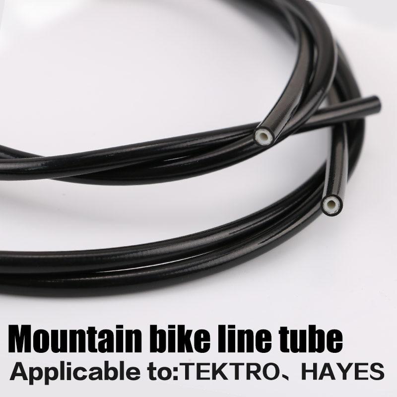 3m Mountain Bike Hydraulic Disc Brake Oil Tube Pipe Bicycle Brake Hose for Tektro/Hayes 2.5x5.4mm MTB parts bike  Accessories