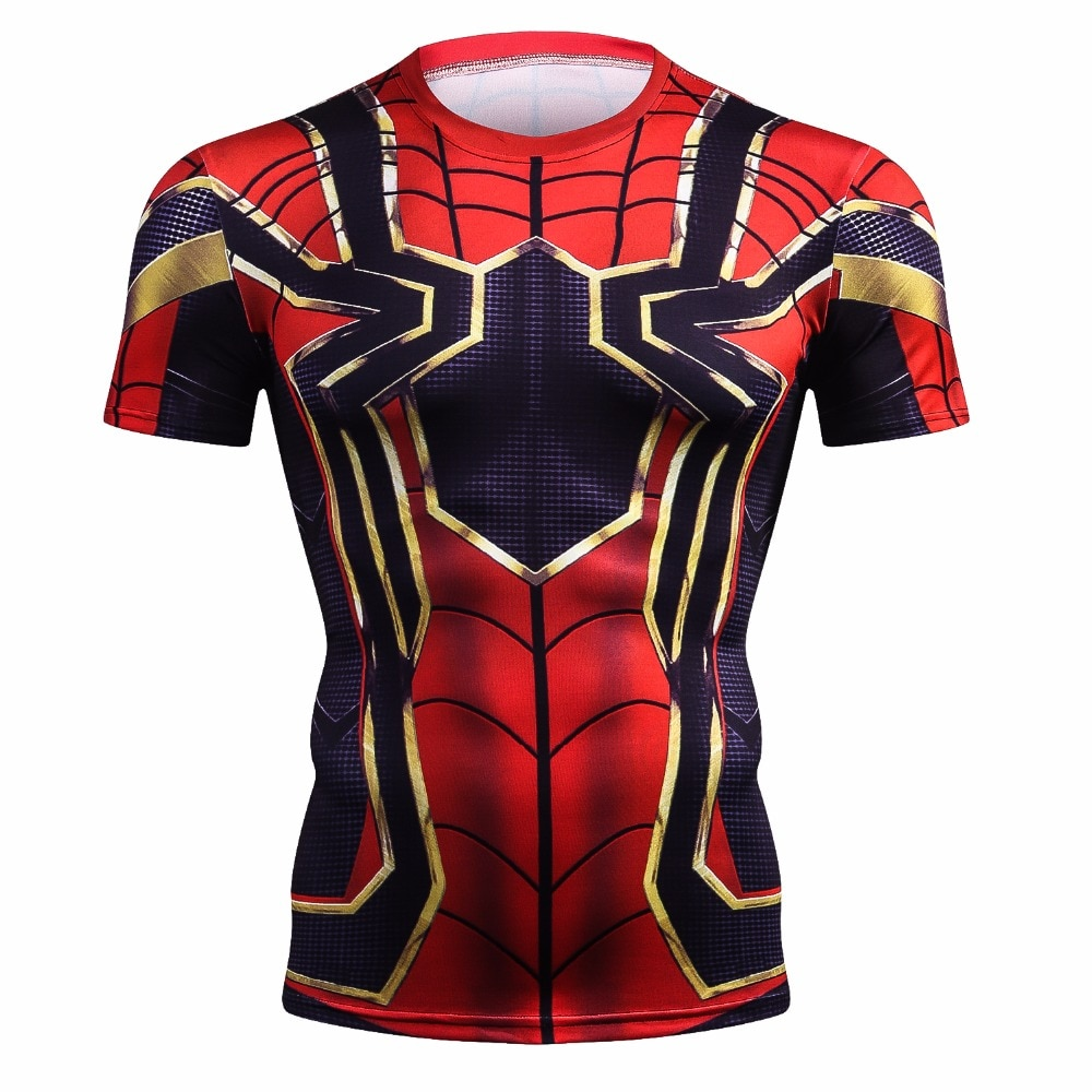 Camisa capitão américa escudo da guerra civil t 3d impresso t-shirts homem marvel avengers 3 homem de ferro roupas fitness masculino topos 2018