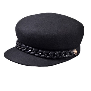 BINGYUANHAOXUAN Fashion Literary Youth Cap 2018 New Hot Stamping Women Military Hats Bronzing Flat Top Hat Lady Beret