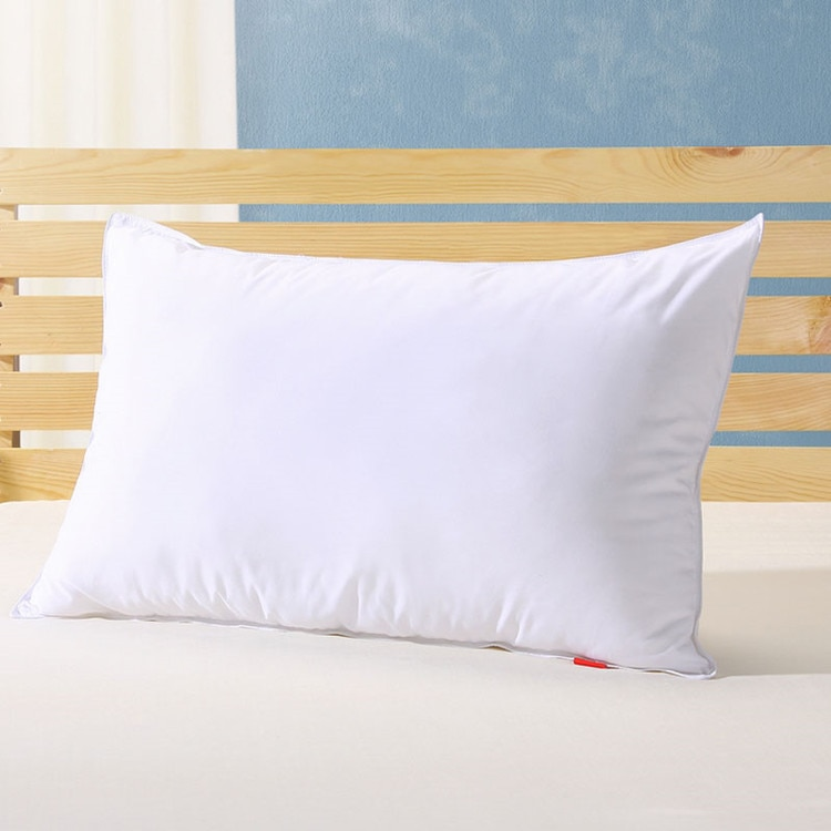 Almohada mediana 90% de ganso blanco, almohada rey de 20x36 pulgadas, relleno blanco de 39 oz, potencia de relleno 800 + plumón de ganso blanco, envío gratis