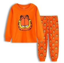 NEUE Design kinder pyjamas Sets Baby Mädchen/jungen Pyjamas Anzug cartoon langen Ärmeln kinder kleidung set LP010