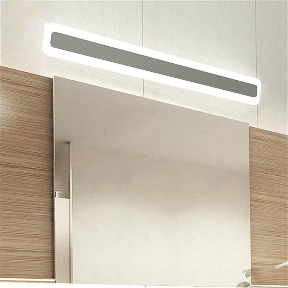 Lámpara de decoración de pared para el hogar L40/50/60/70cm lámpara LED de espejo para el baño/dormitorio/luces de pared de salón 85-265VAC Luz de tocador