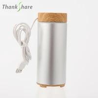 Humidificateur dair aromatique pour maison  diffuseur dhuile essentielle daromatherapie USB  humidificateur de voiture Portable  Mini brume ultrasonique fraiche pour bureau