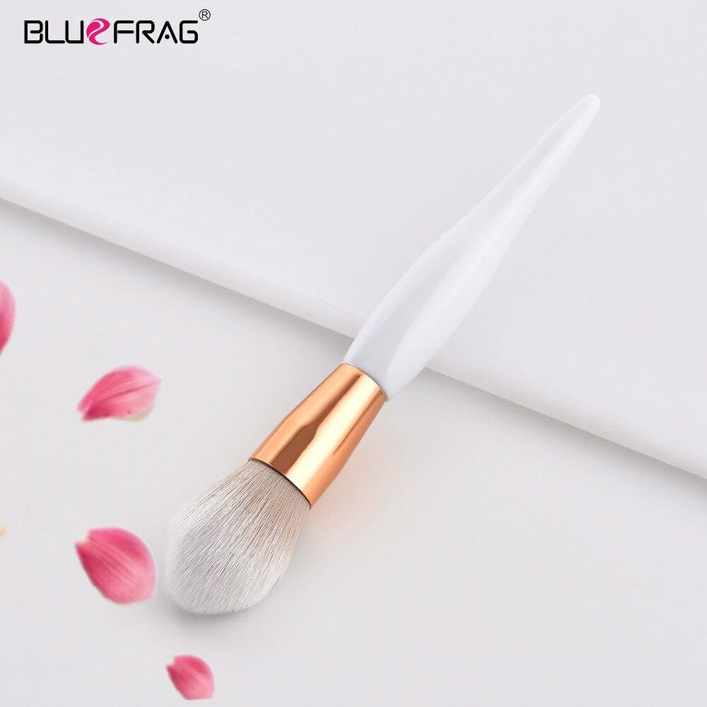 BLUEFRAG, 1 Uds., brocha de maquillaje de gran base, brocha de maquillaje profesional para sombra de ojos, kit de maquillaje, brocha cosmética pinceles kabuki