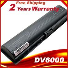 Batterie dordinateur portable VE06 pour HP pavillon HSTNN-DB42 dv2000 dv6000 V3000 V3500 V6000 dv6400 dv6700 dv2700 HSTNN-IB42 LB42