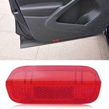 beler High Quality Plastic Red Door Panel Light Lense Reflector for VW Passat B6 B7 Jetta MK5 MK6 Golf MK6 Passat CC 1KD 947 419