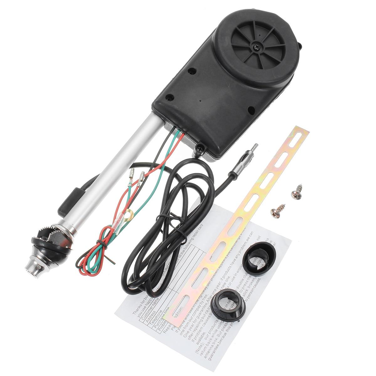 سيارة قابل للسحب هوائي سيارة الجوي هوائي الكهربائية راديو كارو 12 V FM/AM التلقائي الجوي التصميم العالمي
