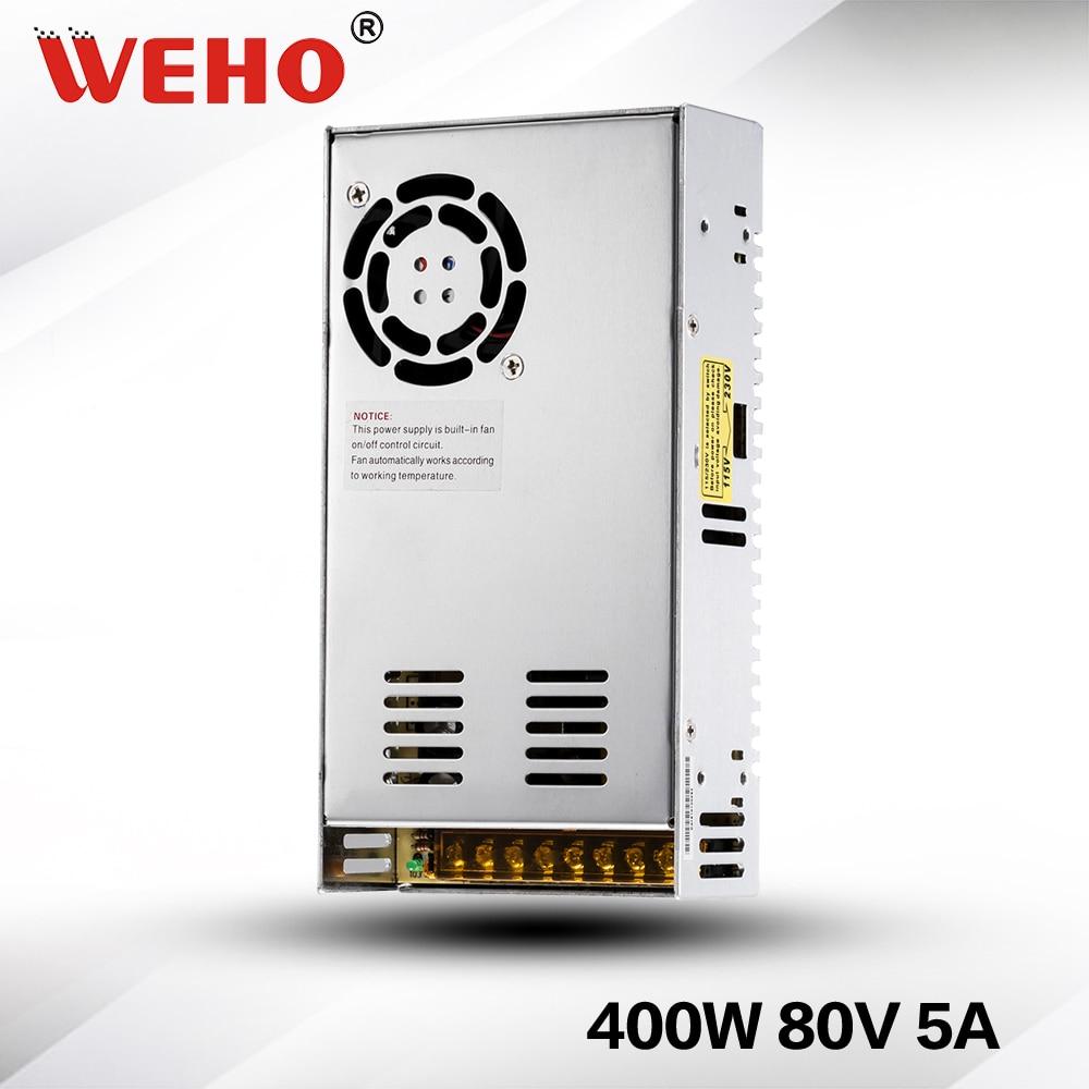(S-400-80) موثوق جودة CE بنفايات 5A 400W 80V تحويل التيار الكهربائي (S-400-80)