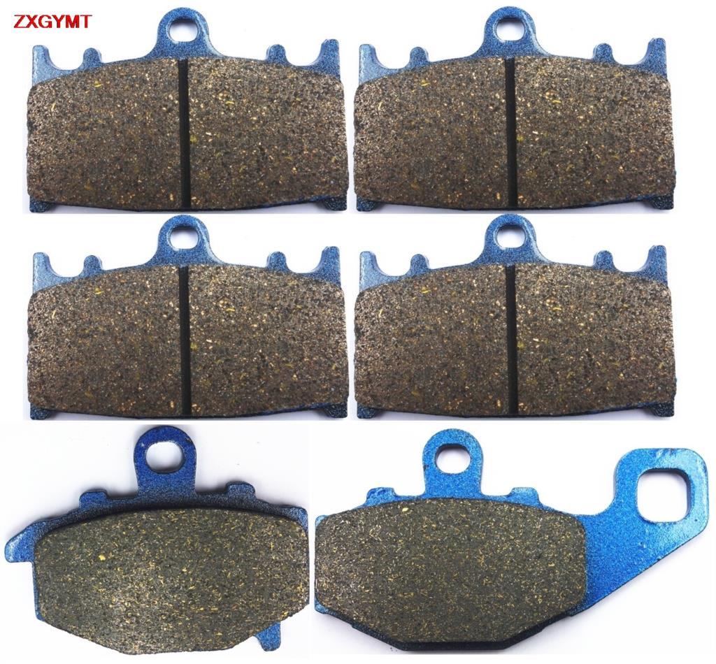 Sintering Disc Brake Pads Set fit for KAWASAKI ZZR 500 ZZR500 Austria 1993 - 1998 Front Rear 98 93 97 96 95 94