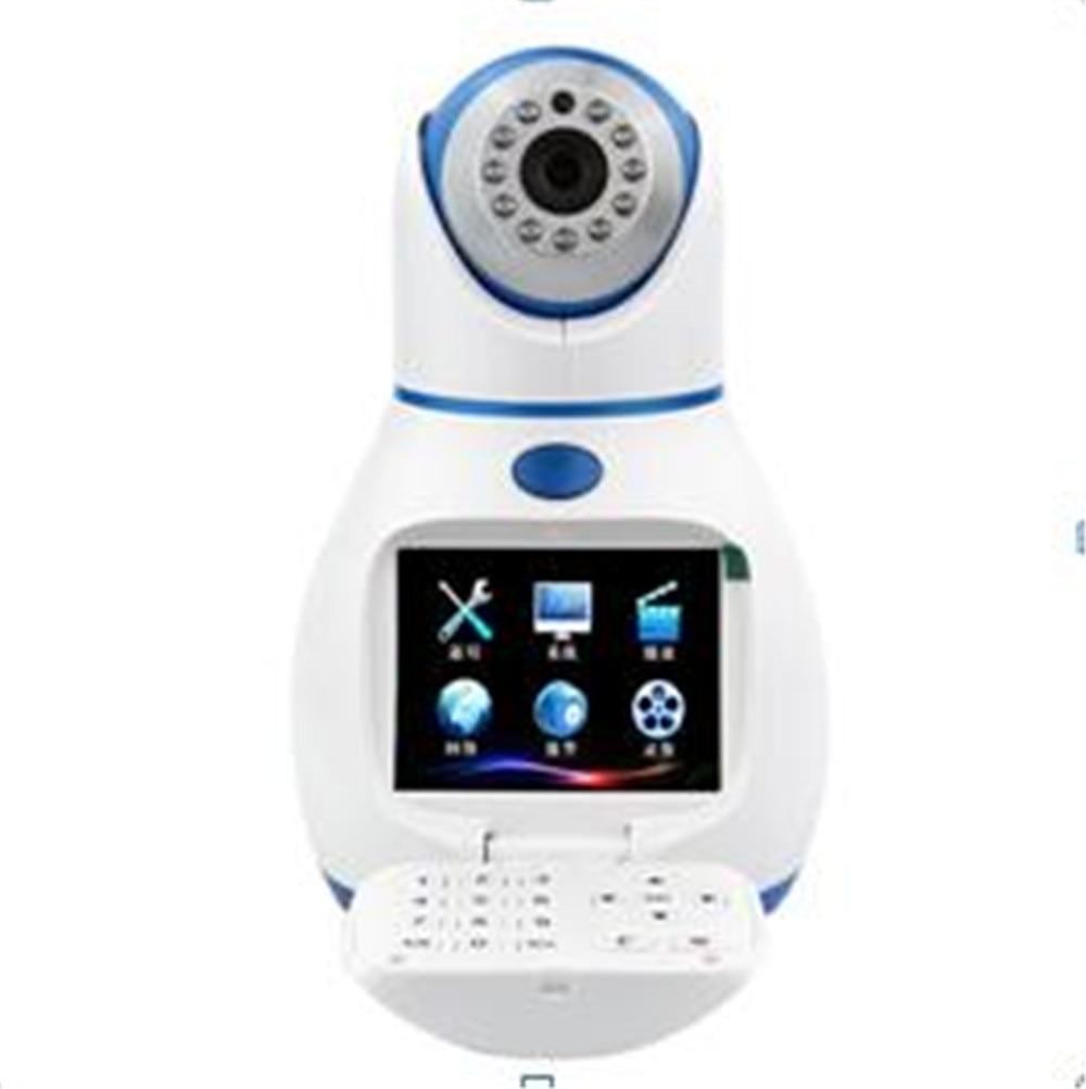 3.5 Polegada Livre Chamada de Vídeo Interfone Sem Fio Pan & Tilt IP Câmera T3