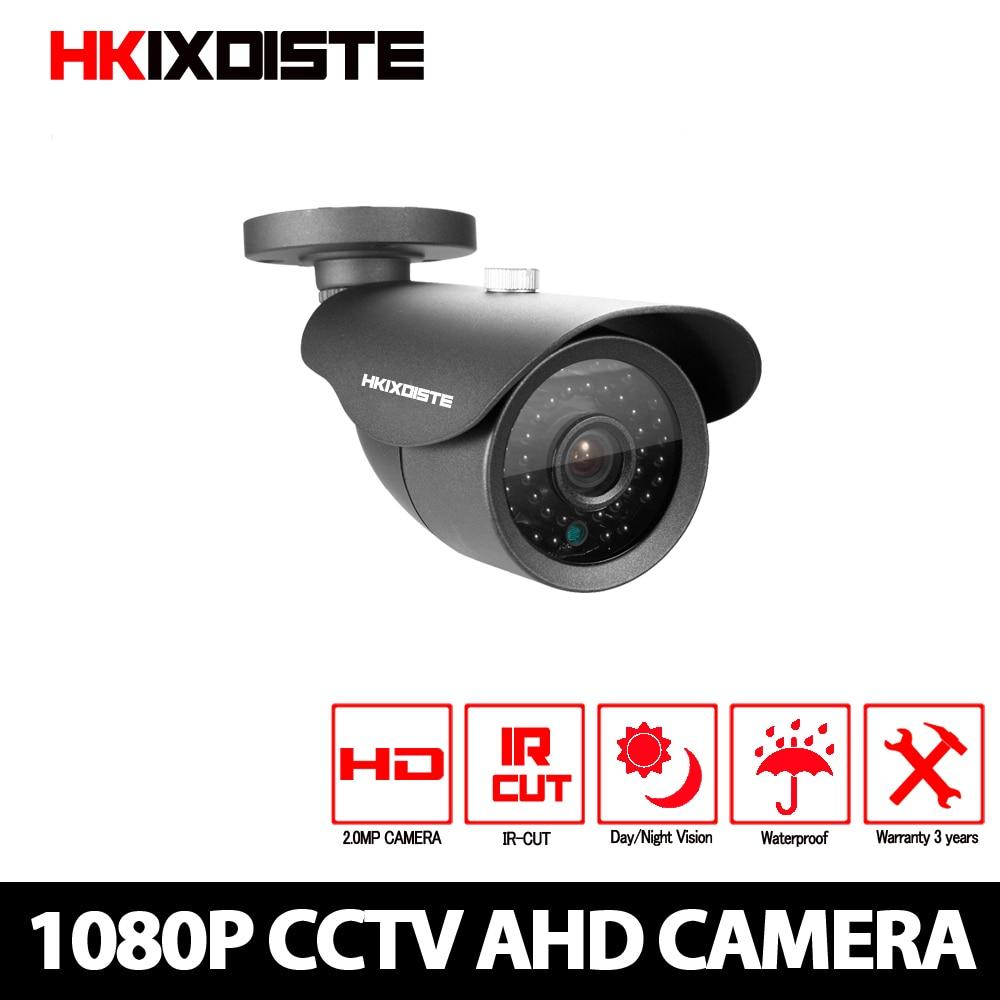 Cámara HD analógica impermeable al aire libre 2MP AHD 1080P CCTV cámara de seguridad de visión nocturna IR Cut Work para AHD DVR grabador