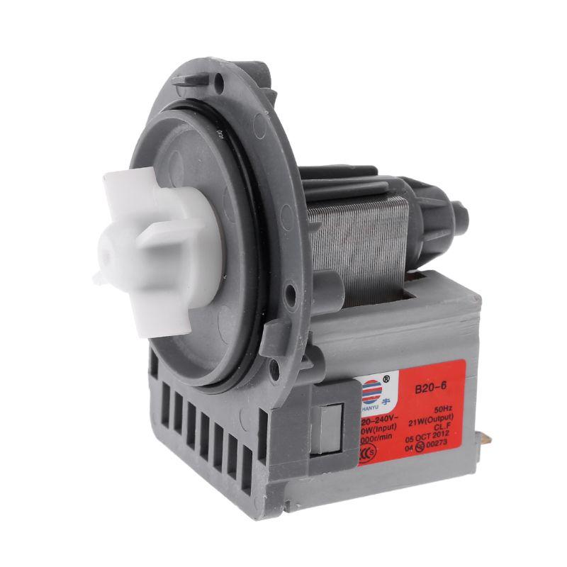 Motor de bomba de drenaje motores de salida de agua piezas de lavadora para Samsung LG Midea Cisne pequeño