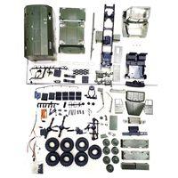WPL B36 масштаб 1:16 Радиоуправляемый автомобиль 2,4G 6WD военный грузовик Rock Crawler командно-коммуникационный автомобиль Комплект «сделай сам» Игру...
