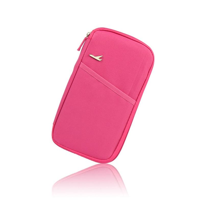 Accesorios de viaje set para pasaporte titular de la tarjeta de crédito tarjetero ID organizador de tickets embrague bolsa de almacenamiento de pasaporte paquete cartera