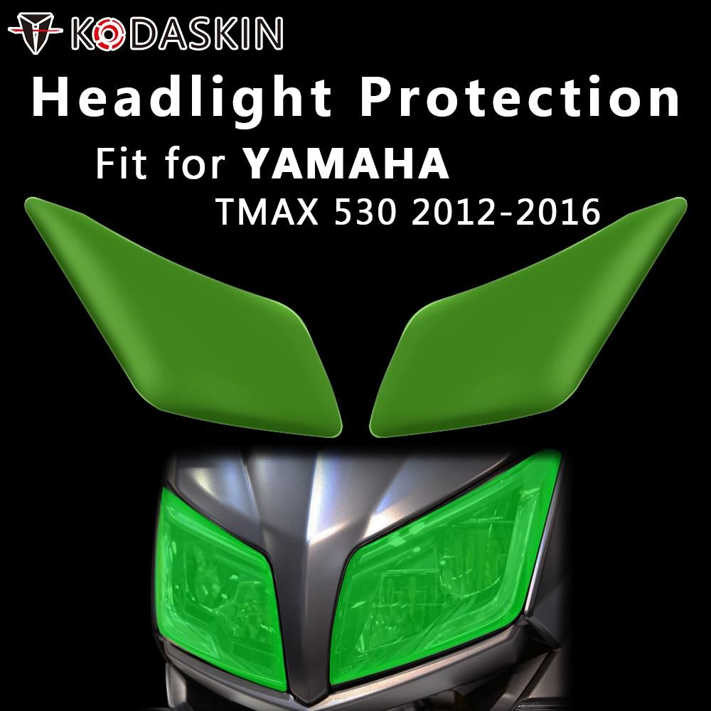 Tapa para faro de motocicleta KODASKIN, pantalla de protección para Yamaha TMAX 530 yzf tmax530 2012-2016