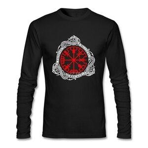 Vikings T Shirt Long Sleeve Custom Men's Shirt Pp Tv O-neck Cotton berserk Tee Shirts Homme